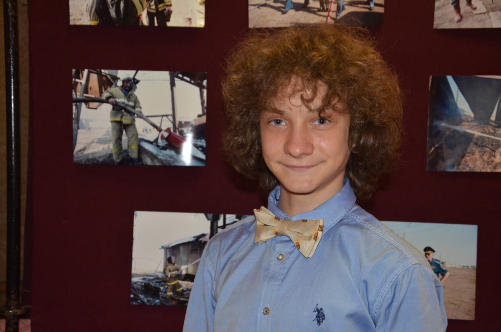 12-летний ведущий интернет-радио «КИДС fm.» Артем Кузнецов.