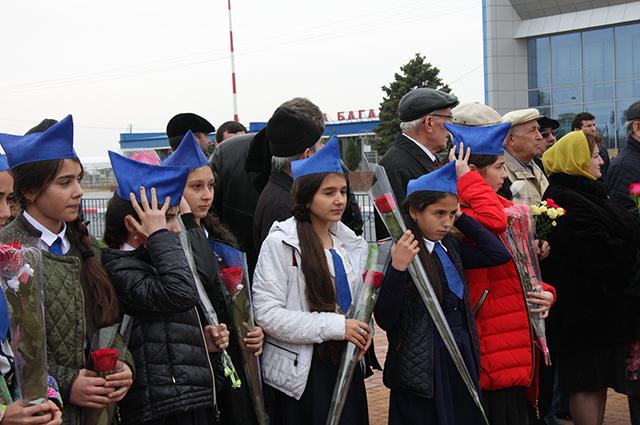 Митинг, приуроченный к 95-летию Амет-Хана Султана