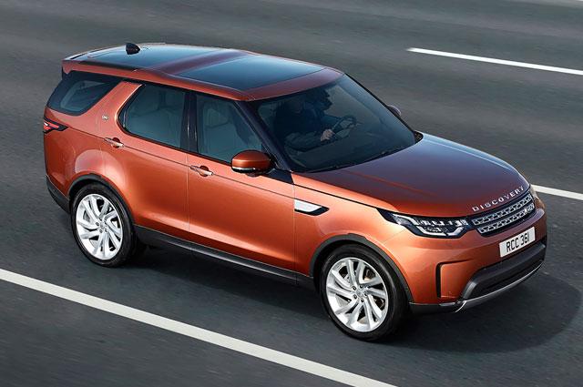 пресс-служба Land Rover Discovery