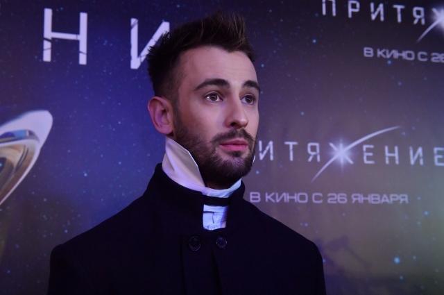 Риналь Мухаметов на премьере фильма Федора Бондарчука.