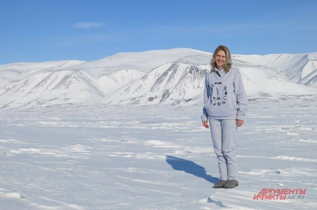 Самая тёплая чукотская зима – в Провидения, на восточном побережье Чукотки.