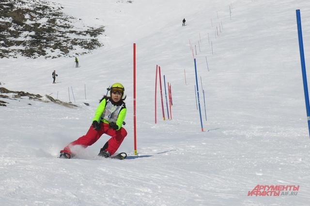 На Чукотке популярны зимние виды спорта.