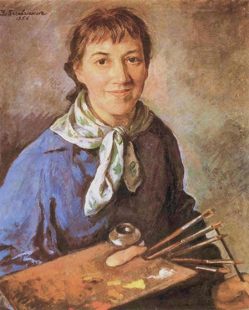 «Зинаида Серебрякова. Автопортрет», 1956 год.