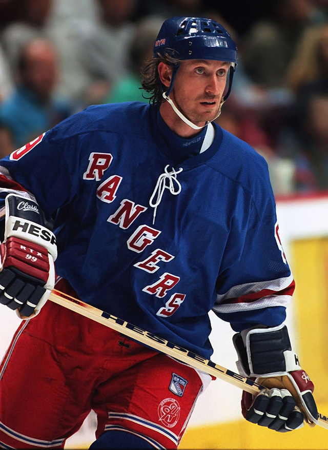 Уэйн Гретцки в 1997 году.
