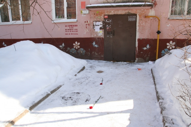 Место гибели Сергея Спирова.