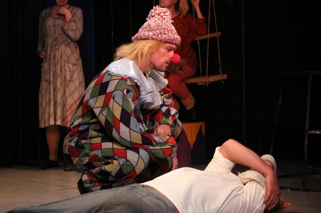 «Каштанка» на сцене Лицейского театра.