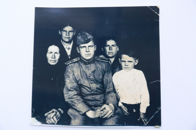 Семья Григория Зворынгина