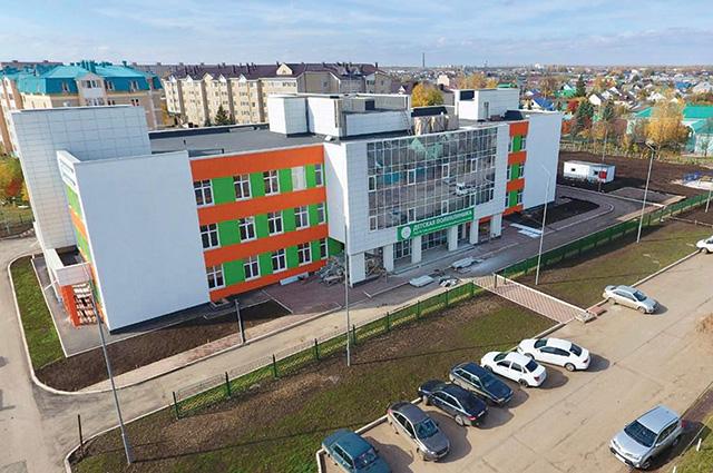 К 100-летию Башкирии в Туймазах откроется детская поликлиника.