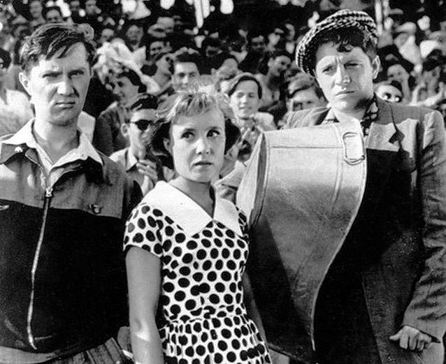 Юрий Белов в фильме «Неподдающиеся» (1959)