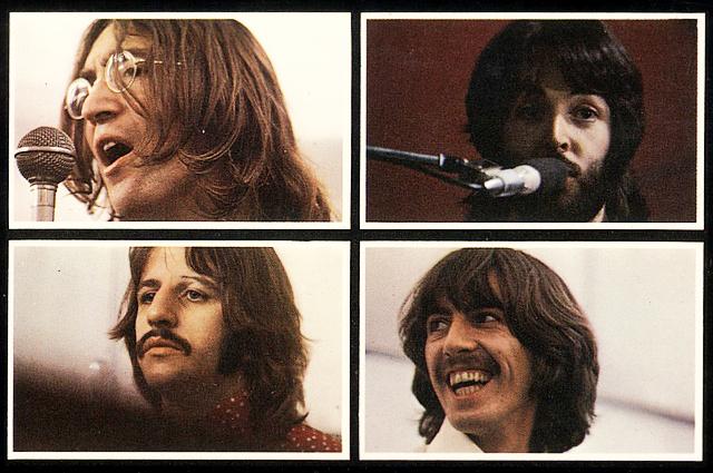 Облжка к альбому The Beatles Let It Be . 1970 год