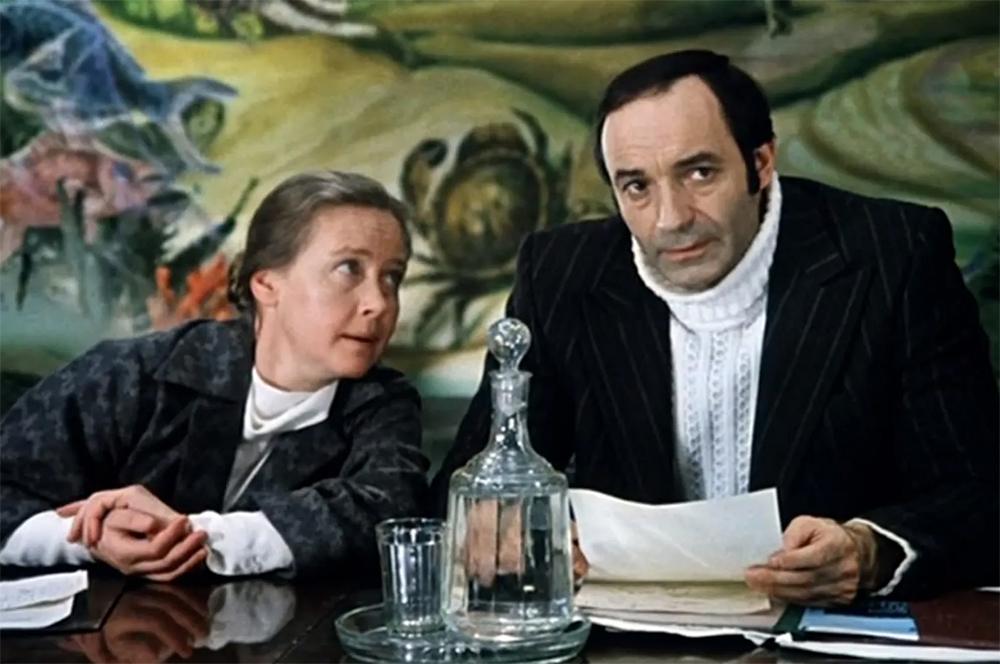 Ия Саввина и Валентин Гафт.