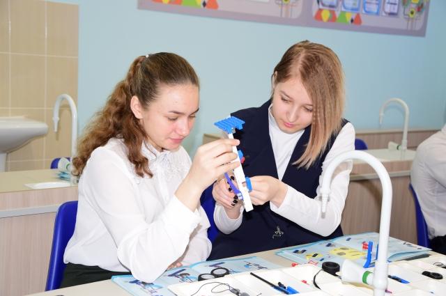 Ремонт и оснащение Сосновской средней школы прошли благодаря региональному проекту «Моя новая школа».