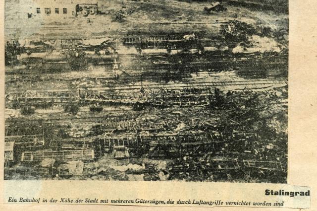 Разрушенный Сталинград. Немецкая пресса