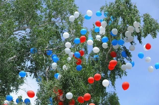 шарики, небо, летят шарики, воздушные шарики