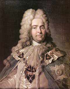Ягужинский — один из немногих, кто присутствовал на бракосочетании царя с Мартой Скавронской.