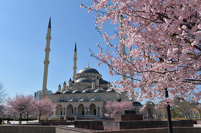 Мечеть «Сердце Чечни» имени Ахмата Кадырова в Грозном.