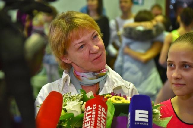 В детстве Елену Наймушину отдали в гимнастику из-за проблем с сердцем.
