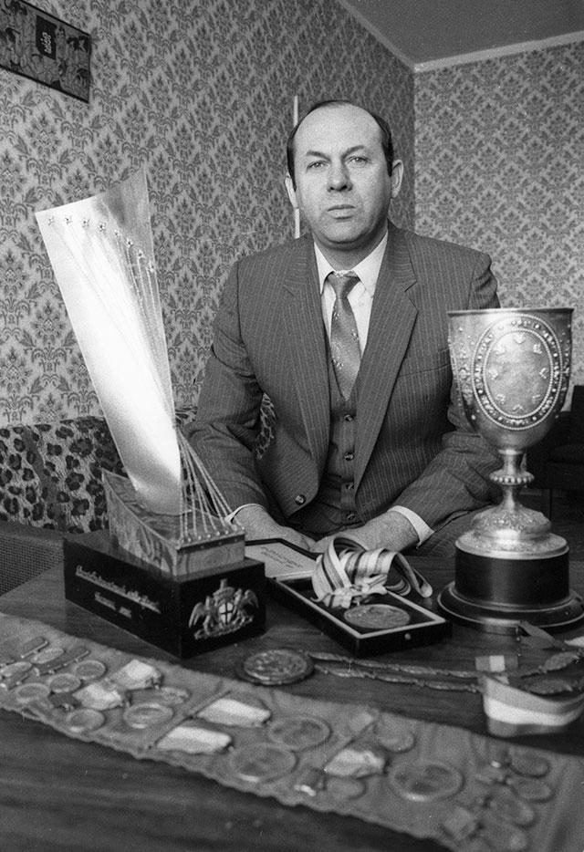 Валерий Брумель, 1987 г.