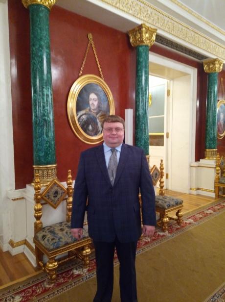 4 ноября Александр Зинкин был в числе приглашённых в Большой Кремлёвский дворец в Москве, где Президент России Владимир Путин провёл приём по случаю Дня народного единства.