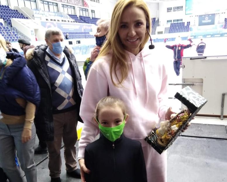 Татьяна Навка и Амина Закирзянова.