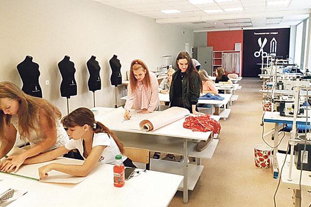 В мастерских тамбовские студенты учатся создавать новые образы.