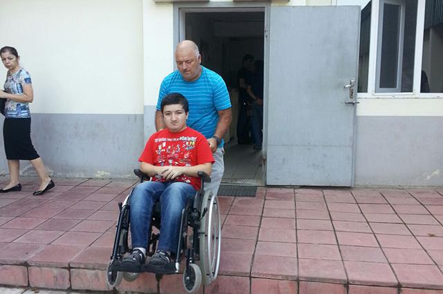 Ахмед Хабибов после визита в военкомат.