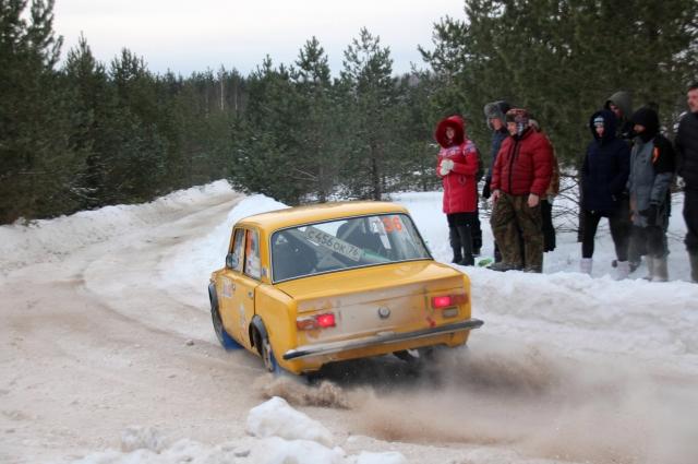 Алексей Петров и Геннадий Карамалак показали отличные времена и добились финиша на ВАЗ-2101.