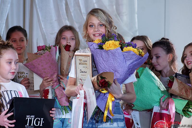 Победителем конкурса стала 11-летняя Вита Волкова.