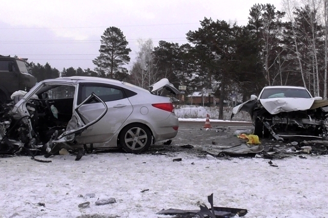 Два человека пострадали в ДТП.