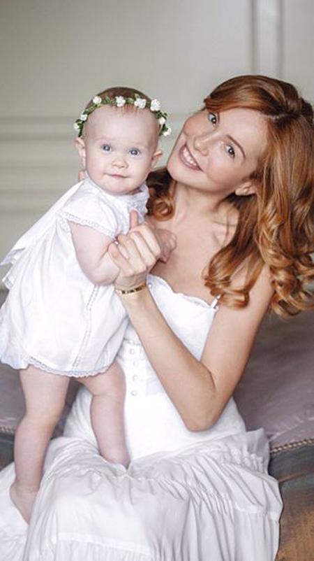 Татьяна Абраменко с дочерью.
