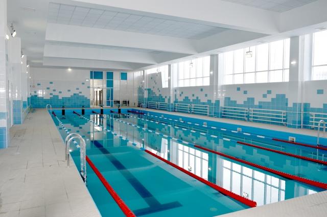 «Звезда» школы и мечта многих учеников – бассейн.