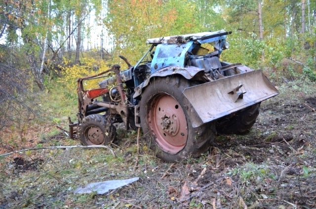 В ДТП погиб тракторист.