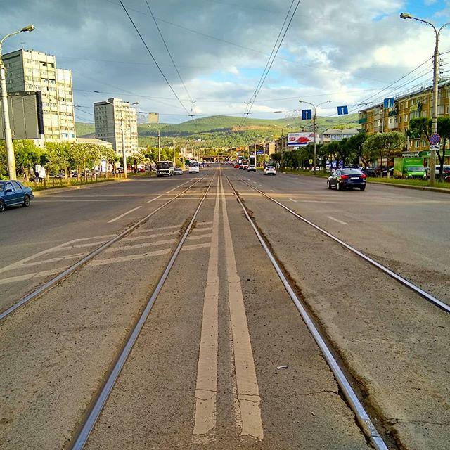 Городская среда в Красноярске