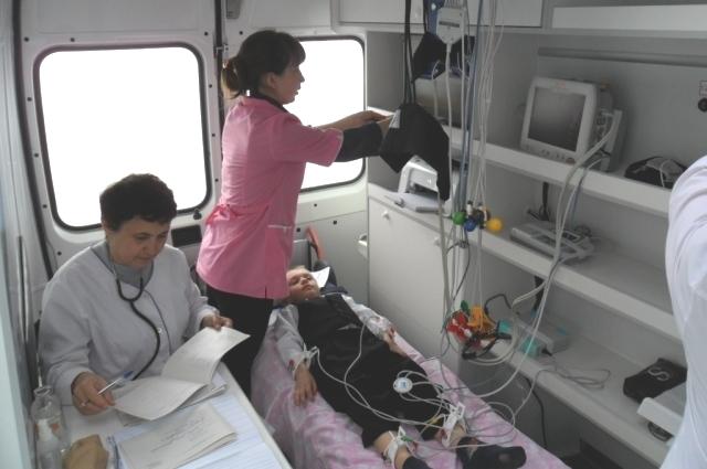 Мобильный центр здоровья.