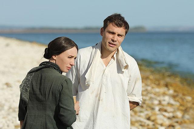 Чулпан Хаматова и Евгений Морозов на съёмках сериала.