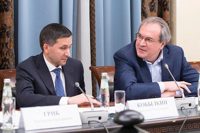 Дмитрий Кобылкин и Валерний Фадеев.