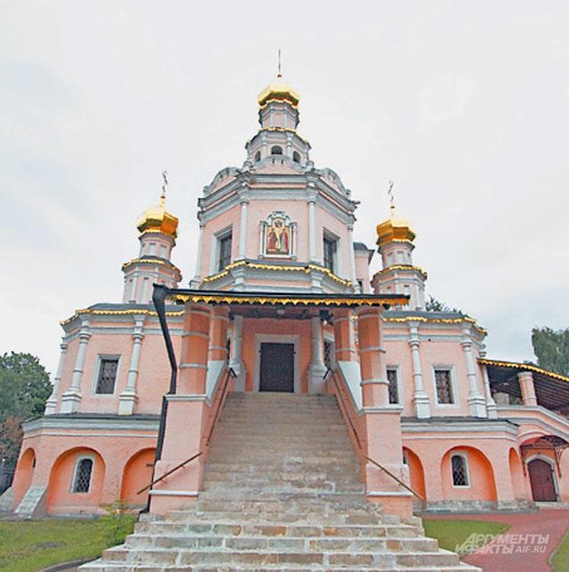 Церковь святых благоверных Бориса иГлеба вЗюзине наПерекопской ул., д. 7