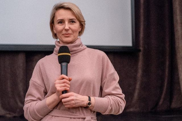 Внучатая племянница Федора Крюкова Елена Сафронова присутствовала на премьере фильма.