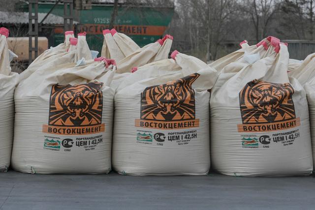 Цемент Камчатские строители предпочитают пользоваться качественным цементом производства спасского завода.