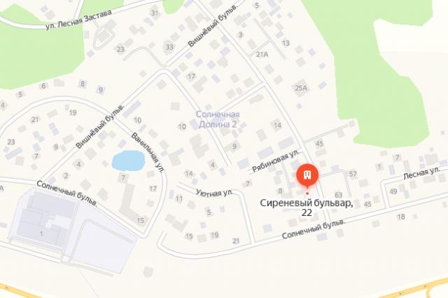 Фото: Яндекс.Карты/ Пункт тестирования на Сиреневом бульваре.