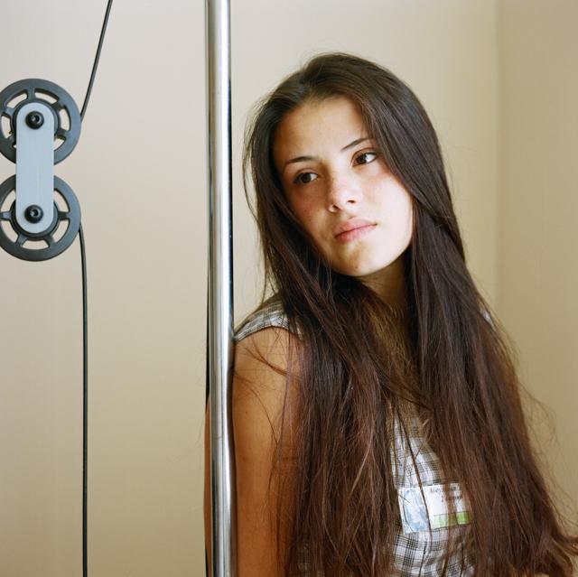 Эля из Кабардино-Балкарии, всегда с макияжем и всегда вежлива. Осуждена по 228-й статье за наркотики