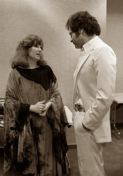 За год до своей смерти певец побывал в Москве. На снимке: Джо Дассен и Алла Пугачева, 1979 год