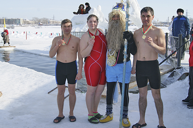 зимнее плавание