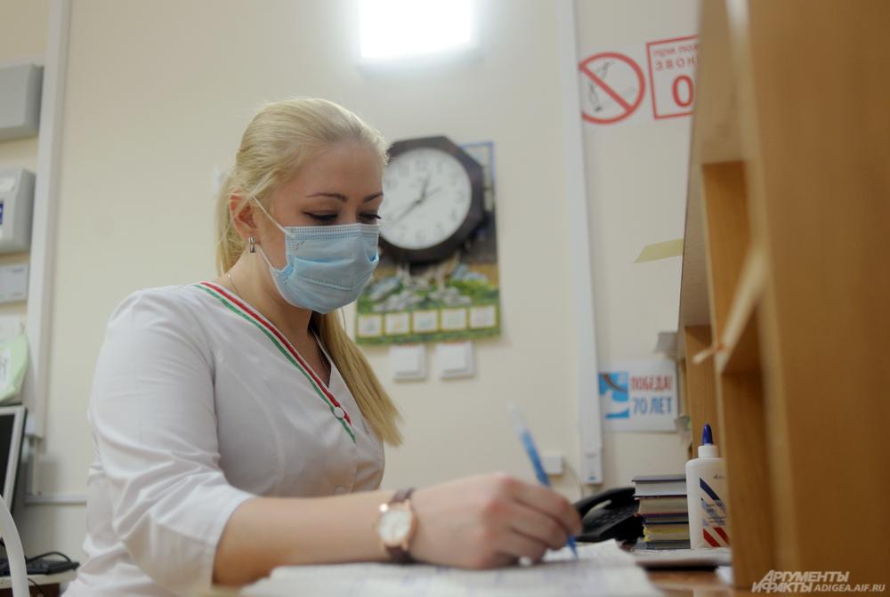 Пульмонологическое отделение республиканской больницы Адыгеи.