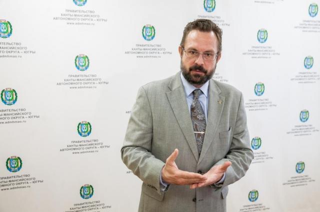 Всеволод Кольцов, главный врач ОКБ Ханты-Мансийска