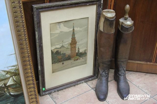 Старинные вещи из «Антиквара на Мясницкой».