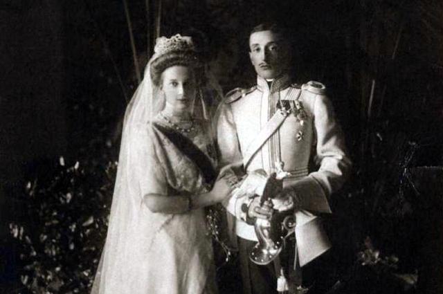 Свадьба состоялась в августе 1911 года в узком семейном кругу.