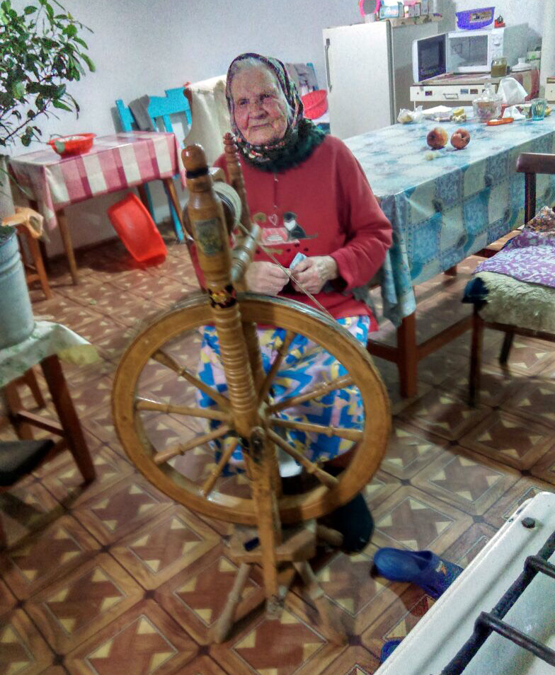 Анастасия Казакова, 94 года.