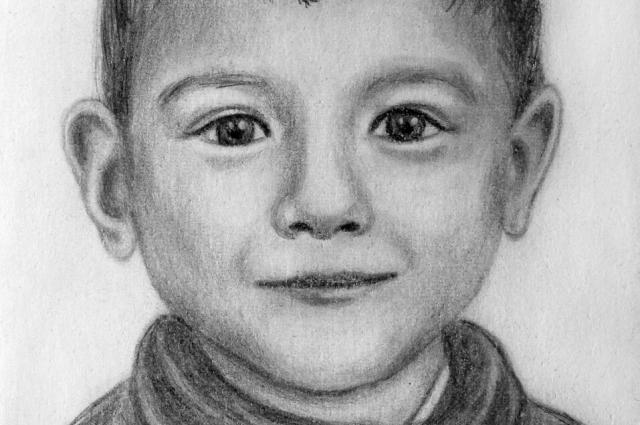 Маленький Леша Санников.