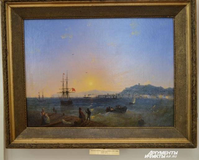 Картина Ивана Айвазовского «Керчь».